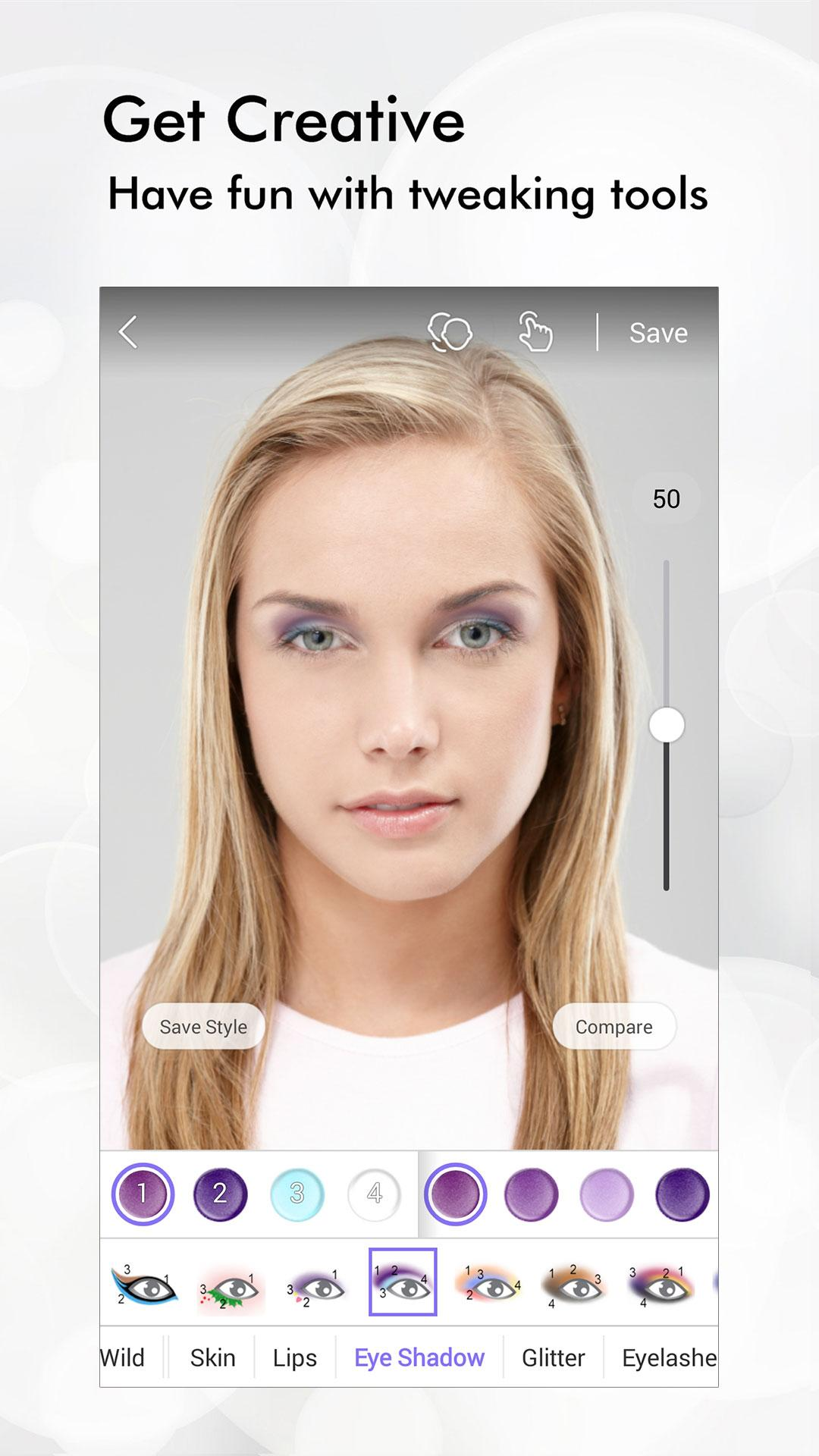 Perfect365: One-Tap Makeover screenshot #2