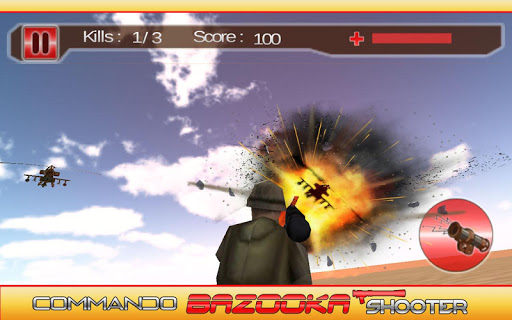 Commando Bazooka Shooter
