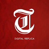 Salt Lake Tribune E Replica
