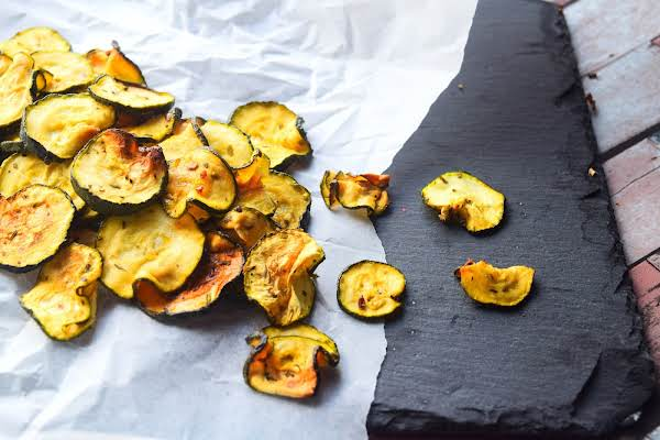 Courgette (zucchini Chips) Crisps Recipe