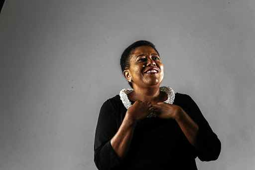 Iconic pitch: Sibongile Khumalo combines classical, jazz and African traditional music styles. As she turns 60, she says it is important that the voice of the older woman is heard more loudly alongside the narratives of youth. Picture: SUPPLIED
