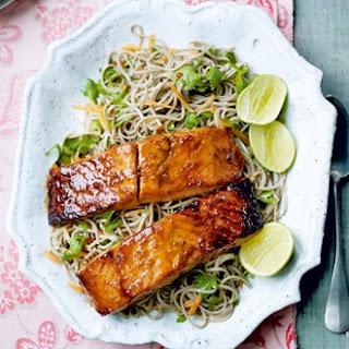 Soba Noodles Fish Recipes