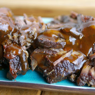 The Best Tasting Slow Cooker Tangy Brisket.