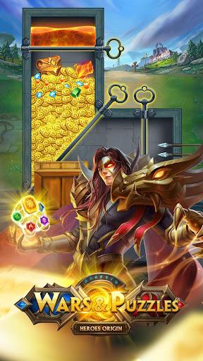 Wars & Puzzles:Heroes Match 3 screenshots 1