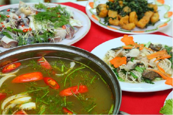 Món Cá tầm được coi là đặc sản chỉ có tại SaPa