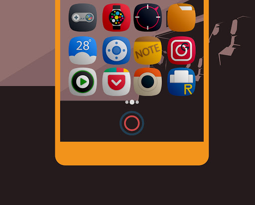 Yomira- Icon Pack App per Android screenshot