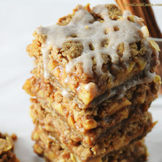 Oat Apple Pie Bars