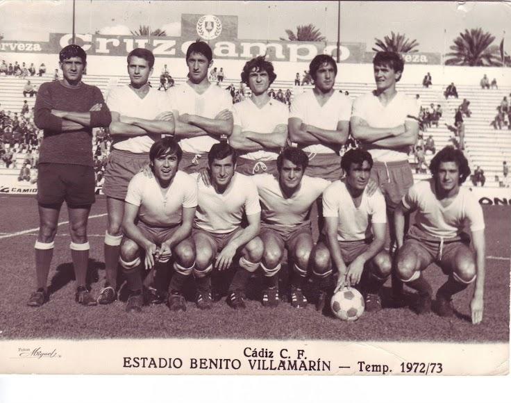 En el Benito Villamarín con el Cádiz de Segunda División.