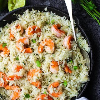 Cilantro Lime Shrimp & Rice Recipe