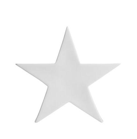 Nellie stjärna vit