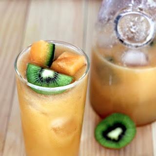 Cantaloupe, Kiwi & Lime Refresher.