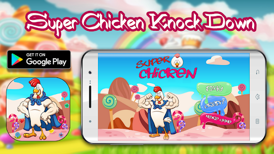 Super Chicken Knock Down - náhled