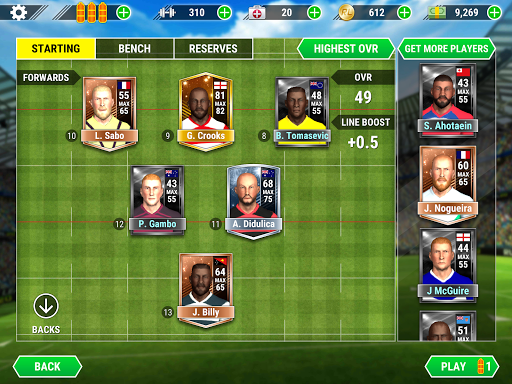 Rugby League 20 1.2.0.47 screenshots 18