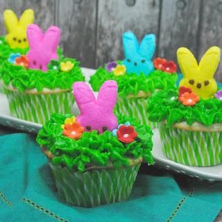 Peeps Easter Cupcake