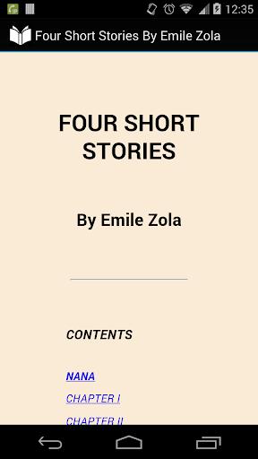 Émile Zola Short Stories