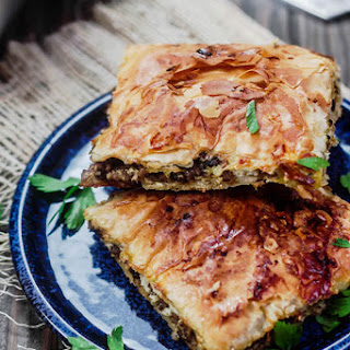 Phyllo Meat Pie (Egyptian Goulash) Recipe