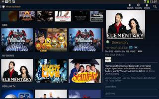 Screenshot of TiVo
