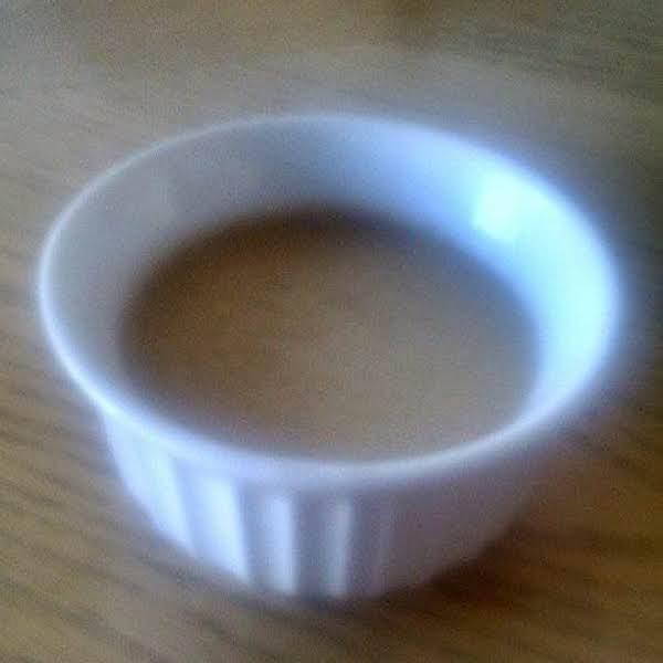 Salted Caramel Custard