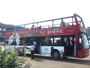 Photo: Tourist bus at TBS