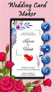 Download Wedding Card Maker For PC Windows and Mac apk screenshot 3