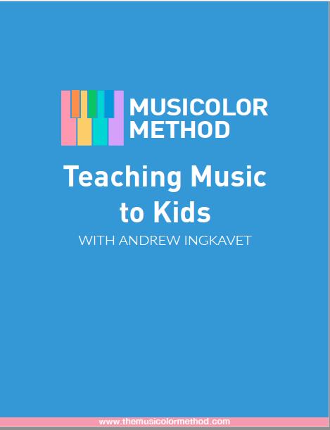 Teaching Music To Kids cover