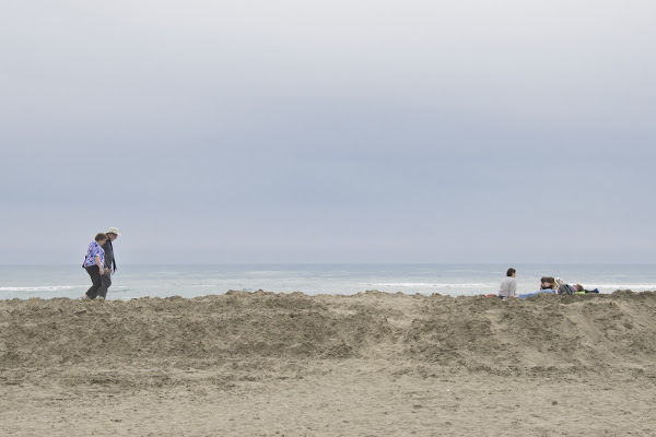 In spiaggia di si