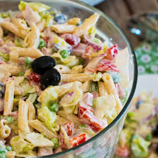 Chopped Salad with Pasta.