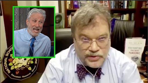 Doctor Attacks Jon Stewart, Claims He's Damaging Science by Telling Jokes
