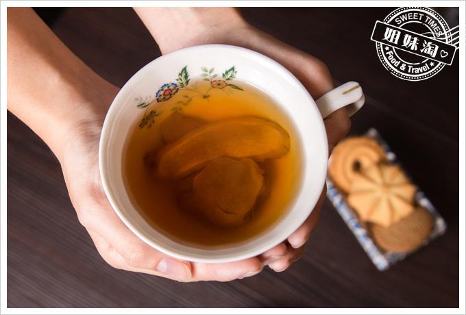 黑薑軍黑糖薑片茶