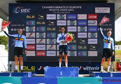 Belgische meisjes junioren Vanhove en De Clercq spurten naar zilver en brons, Italiaanse Europees kampioene
