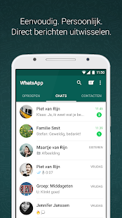 WhatsApp Messenger: miniatuur van screenshot