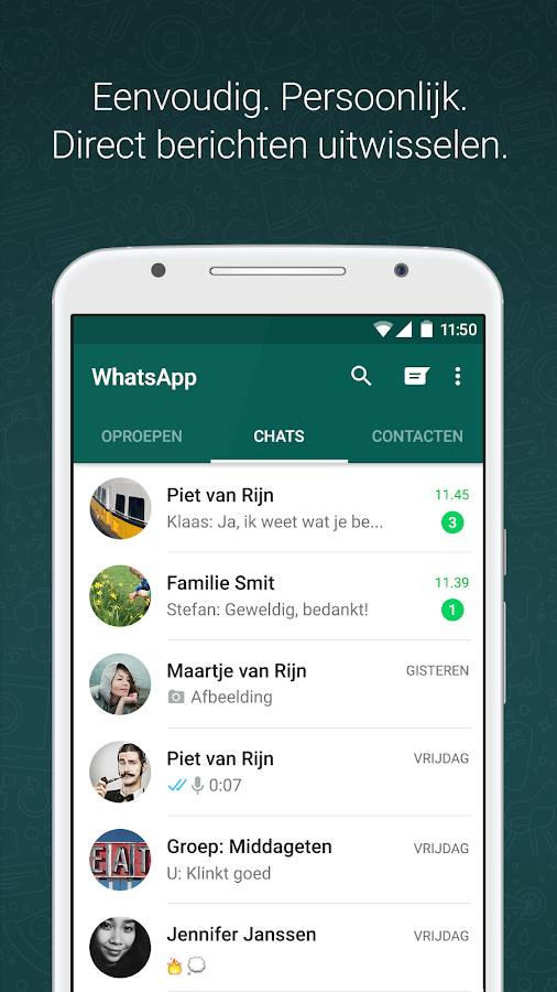 WhatsApp Messenger: screenshot