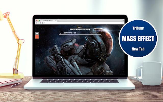 *NEW* HD Mass Effect: Andromeda New Tab