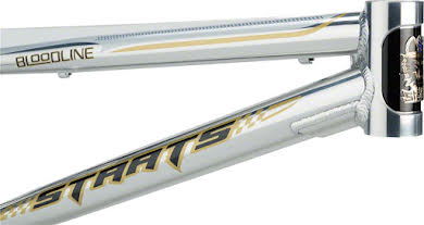 """Staats Bloodline Supermoto30 Expert Frame 19.5"""" Top Tube Silver Arrow Polished alternate image 2"""