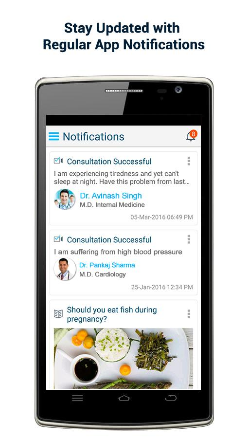 seeDoc - Video Consult Doctors- screenshot