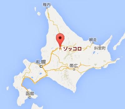 地図:トラットリア ゾッコロ