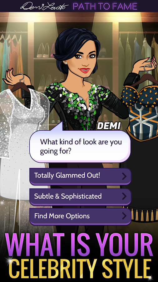 Demi Lovato: Path to Fame- screenshot
