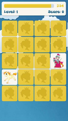 Princess memory game for kids 2.9.2 screenshots 4
