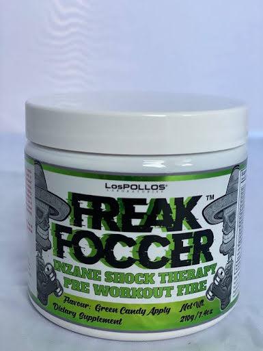 Lospollos Freak Foccer 210g - Greean Candy Apple