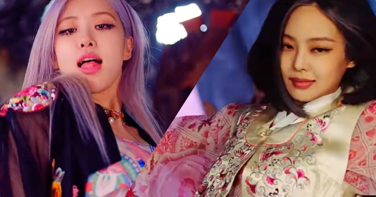 Here S Everything You Need To Know About Blackpink S Korean Hanbok Outfits In How You Like That Mv Koreaboo