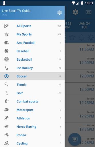 Live Sports TV Listings Guide 2.83 Screenshots 4