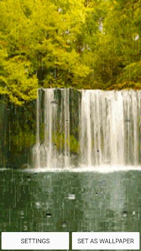Rain Live Wallpaper With Sound
