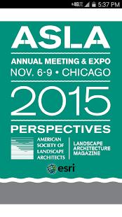 ASLA 2015 Annual Meeting, EXPO screenshot