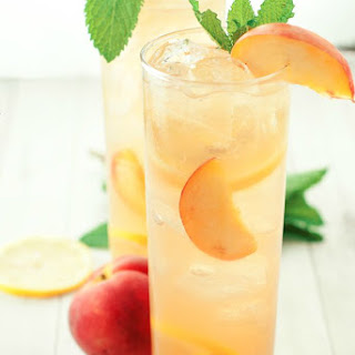 Southern Spiked Peach Iced Tea.