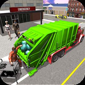 Hospital Garbage Transport Truck Simulator 2019