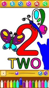 Number Coloring Pages For Kids - náhled