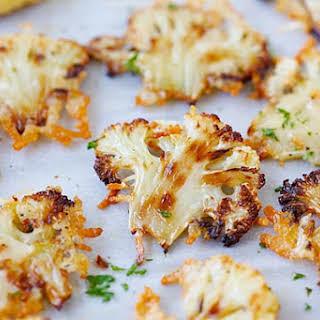 Parmesan Roasted Cauliflower.