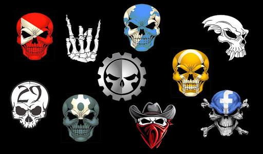 Skull Theme A.21.1SD screenshots 2