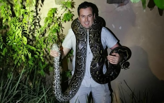 Massiewe 31 kg-python in Durban: 'It projectile poo'd and pee'd on me' - TimesLIVE