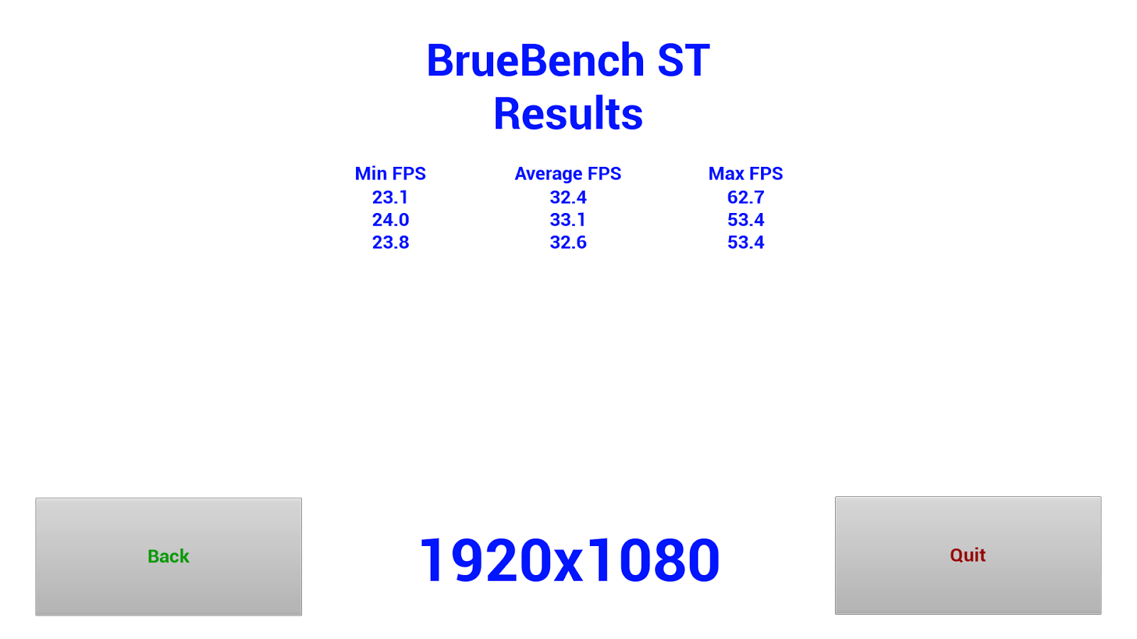 BrueBench ST Reviewer- screenshot